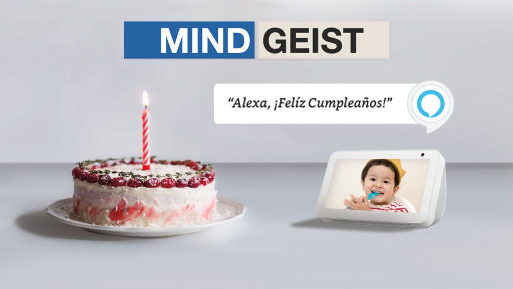 Alexa, Feliz cumpleaños